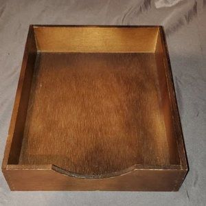 Wooden Drawer to be used like a tray